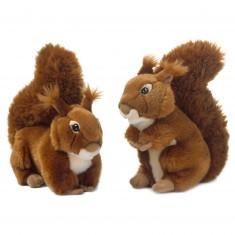 Peluche : WWF Ecureuil 23 cm à l'unité