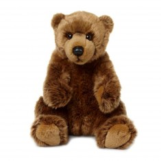 Peluche : WWF Grizzly assis 23cm