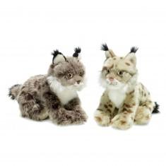 Peluche : WWF Lynx 23 cm à l'unité