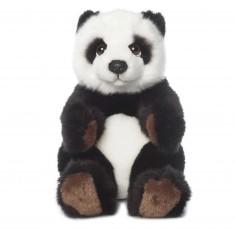 Peluche : WWF Panda assis 15 cm