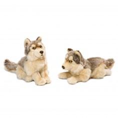 Peluche : WWF Loup 25 cm à l'unité