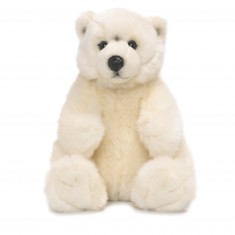 Peluche : WWF Ours polaire assis 22 cm