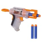 Pistolet Nerf N-Strike Elite Glowshot : Transparent