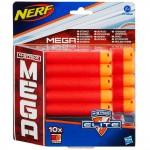 Recharges de 10 fléchettes : Nerf Méga Elite
