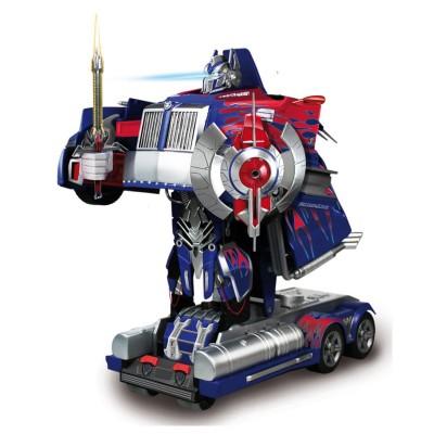nikko camion transformable en robot radiocommande  autobot optimus prime
