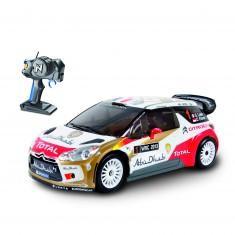 Voiture radiocommandée Citroën DS3 WRC 2013 Abu Dhabi