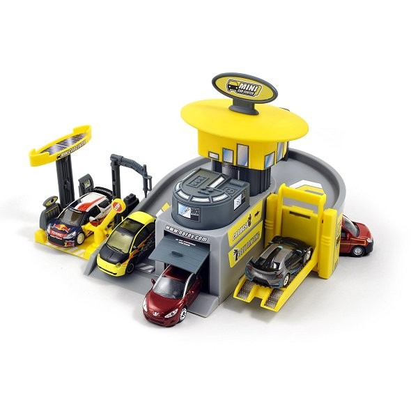 Garage Showroom Center avec véhicule - Norev-G46002