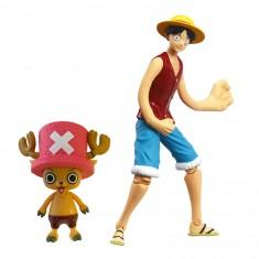Figurines One Piece : Luffy et Chopper