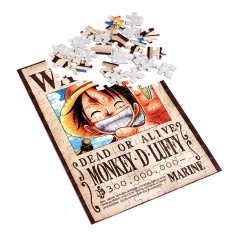Puzzle 100 pièces One Piece : Monkey D Luffy Dead or Alife