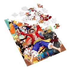 Puzzle 100 pièces One Piece : New World