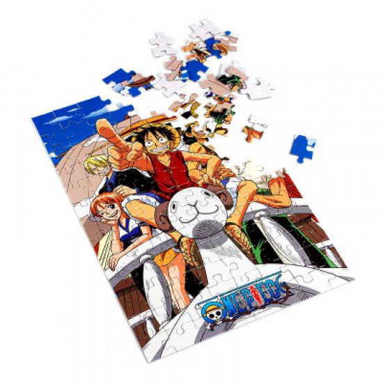 Puzzle 100 pièces One Piece : Vogue Merry - Obyz-SMIJDP038-SMIJDP036