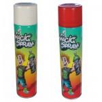 Bombes Magic Spray : Blanc et rouge fluo