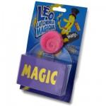 Léo la chenille magique avec boîte à apparition et DVD : Rose