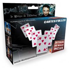 Magie : Dani Larry : Cartes folles