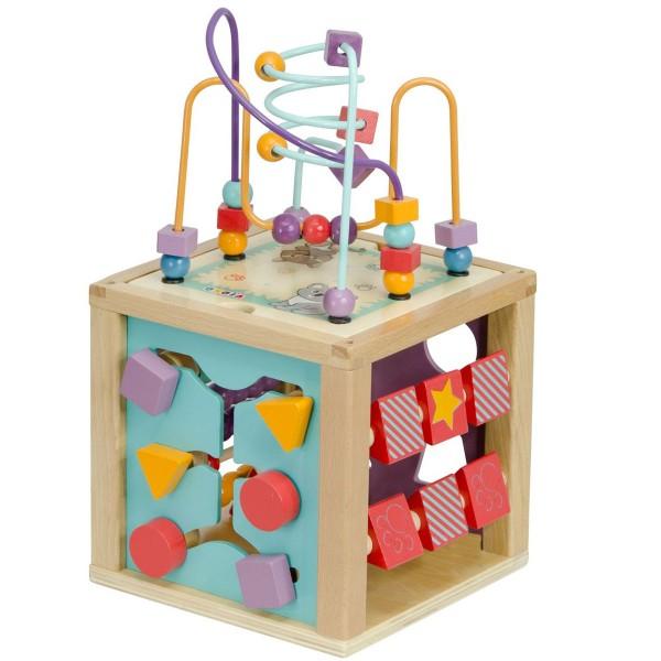 cubes d 39 activit s en bois jeux et jouets oko a avenue des jeux. Black Bedroom Furniture Sets. Home Design Ideas