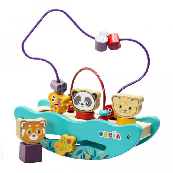 bascule des animaux jeux et jouets oko a avenue des jeux. Black Bedroom Furniture Sets. Home Design Ideas