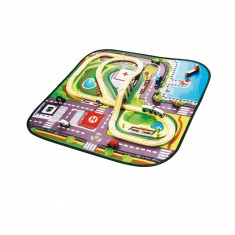 Circuit tramway et tapis de jeu pop up