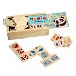 Dominos 28 pièces en bois
