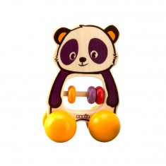 Petit ours à roulettes