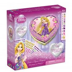 Boîte à Bijoux Coeur Sticky Mosaics : Princesse Disney Raiponce