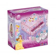 Boîte à Bijoux Sticky Mosaics :  Princesses Disney