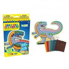Mosaïque aux numéros : Sticky Mosaics : Dinosaure