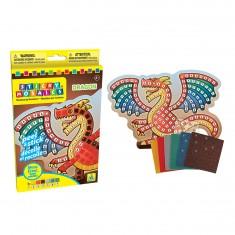 Mosaïque aux numéros : Sticky Mosaics : Dragon