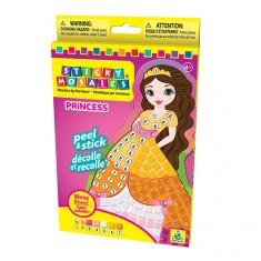 Mosaïque aux numéros : Sticky Mosaics : Princesse