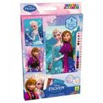 Mosaïque Sticky Mosaics : La Reine des Neiges (Frozen) : Kit scintillant