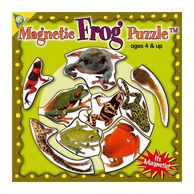 Puzzle 9 pièces : Mini Puzzle Magnétique Grenouilles - Orb-61074
