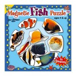 Puzzle 9 pièces : Mini Puzzle Magnétique Les Poissons