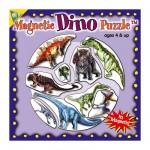 Puzzle 9 pièces : Mini Puzzle Magnétique Dinosaures