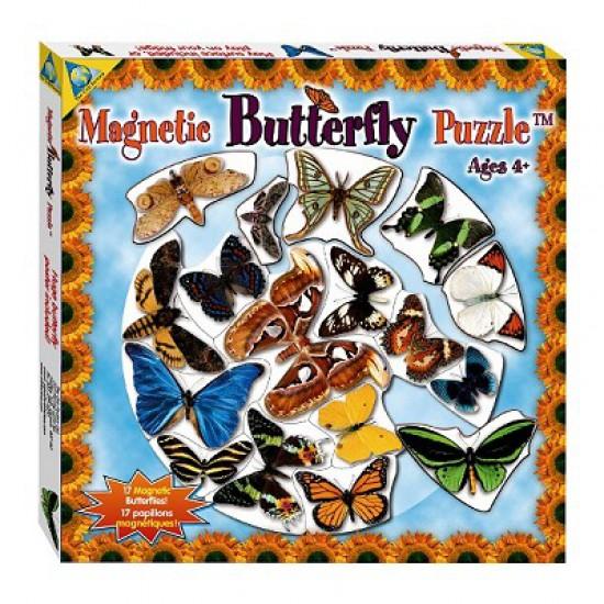 Puzzle magnétique Papillons - Orb-61135