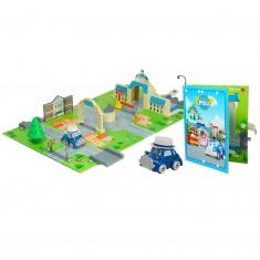 Aire de jeu 3D Robocar Poli : Hotel de ville