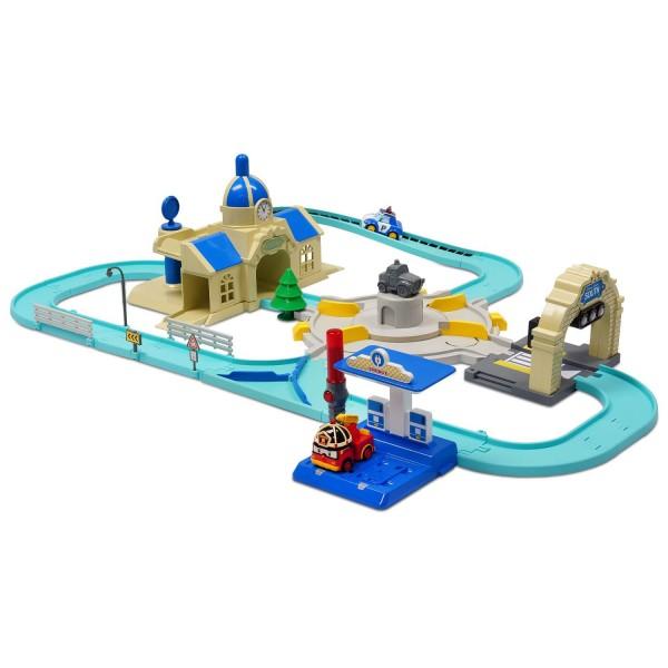 Circuit de luxe robocar poli v hicule intelligent jeux et jouets ouaps avenue des jeux - Robocar poli jeux gratuit ...