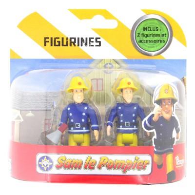 figurines sam le pompier sam avec m gaphone et elvis ouaps magasin de jouets pour enfants. Black Bedroom Furniture Sets. Home Design Ideas