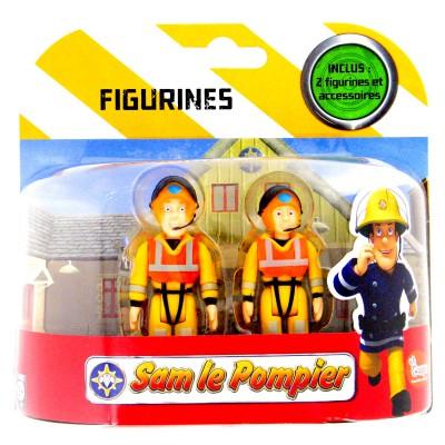 Figurines sam le pompier sam le sauveteur et julie ouaps - Sam le pompier personnages ...