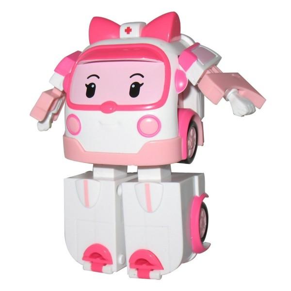 V hicule robocar poli transformable ambre l 39 ambulance jeux et jouets ouaps avenue des jeux - Robocar poli heli ...