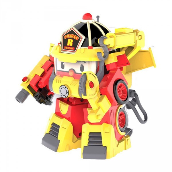 V hicule transformable robocar poli roy super pompier - Robocar poli pompier ...