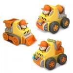 Véhicules de chantier à construire : Magnet Land Deluxe Set