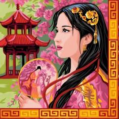 Déco par numéro Initiés : Merveilles d'Asie