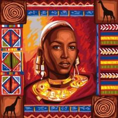 Déco par numéro Initiés : Souvenirs d'Afrique