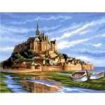 Peinture au numéro Initiés : Mont Saint Michel