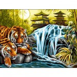 Peinture au numéro Initiés : Sérénité