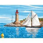 Peinture au numéro Initiés : Sortie en mer