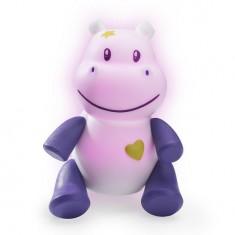 Veilleuse Lumilove Savanoo : Hippopotame