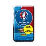 Cartes à collection UEFA Euro 2016 : Boîte métallique 30 cartes et 1 carte