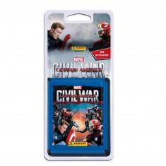 Cartes à collectionner Captain America Civil War : Blister de 40 cartes