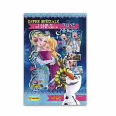 Cartes à collectionner La Reine des Neiges (Frozen) 3 : Album et Blister de 25 cartes