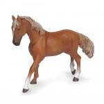 Figurine Cheval pur-sang anglais alezan : Jument